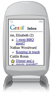 Gmail - Versión WAP!