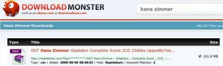 Download Monster - Buscador de archivos de descarga directa
