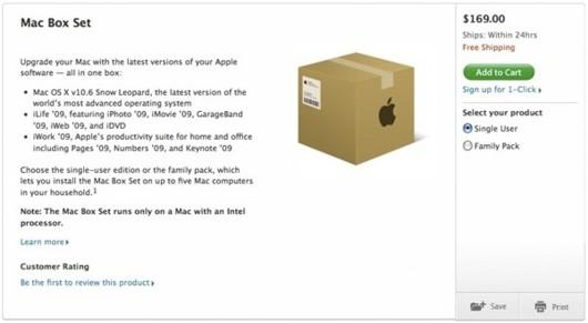 ?La caja fantasma? de Snow Leopard