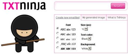 txtNinja - Transforma cualquier texto en imagen