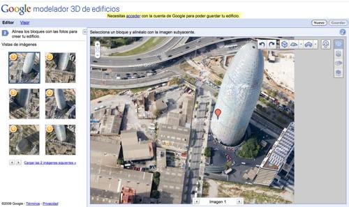 Google Building Maker: Colabora con Google en la representación de edificios 3D