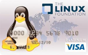 La Fundación Linux busca financiación lanzando su propia tarjeta de crédito Visa