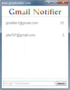 Gmail Notifier, verifica tu correo de Gmail fácilmente