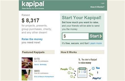 Kapipal - Crea una página para recibir donaciones por Internet