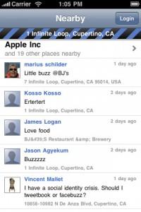 Buzzie: Aplicación de Google Buzz para iPhone