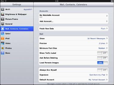 Nuevas librerías para iPad