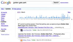 Google: Nueva característica de búsqueda en tweets públicos