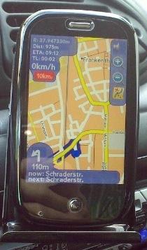 Navegador GPS para la Pre