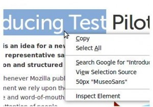 Context Font: Averigua qué fuente usa una web