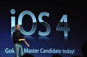 Apple: Nuevo iPhone 4 e iOS4