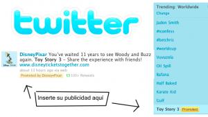 Twitter ya muestra los primeros Tweets patrocinados