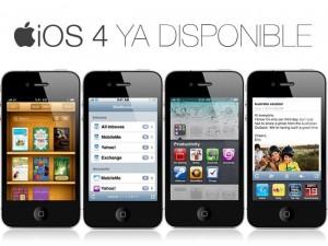 Disponible iOS4