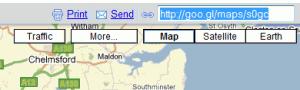 Google Maps: Acorta las URLs