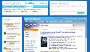 BingTweets: Bing y Twitter juntos