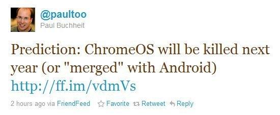 Chrome OS y Android podrían fusionarse