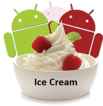 Android 2.4 Ice Cream para el próximo verano