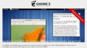 GNOME 3 estrena web