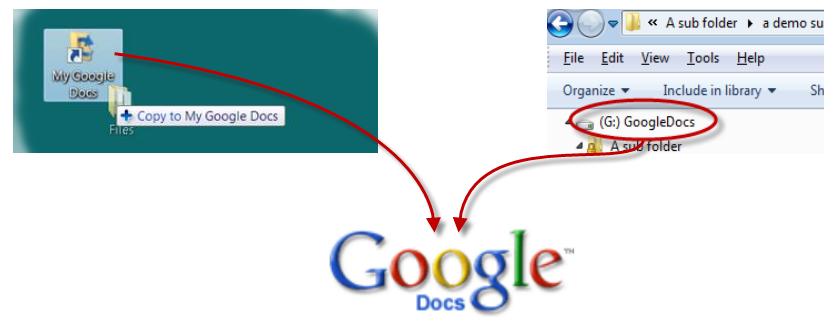 SyncDocs: Sincroniza carpetas locales con Google Docs
