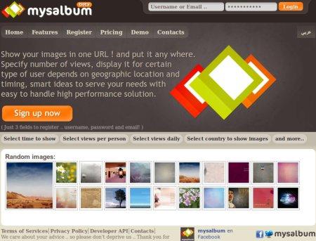 Mysalbum: Comparte imágenes en una sola URL