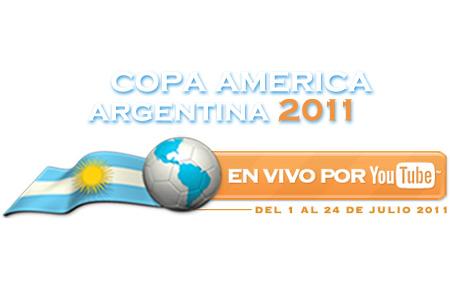 Youtube retransmitirá la Copa América 2011 de fútbol
