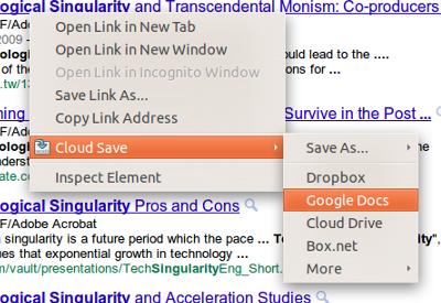 Cloud Save: Transfiere archivos a 18 servicios de almacenamiento online