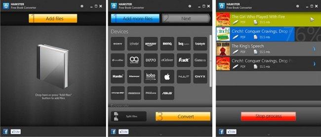 Hamster Free eBook: Conversor de documentos para libros electrónicos, tablets, etc…