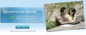 Microsoft Security Essentials: Beta disponible