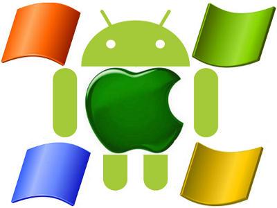 Las ganancias de Microsoft vienen por Android