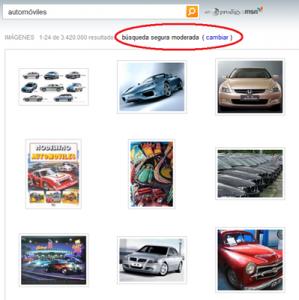 Bing: filtrado de contenido pornográfico