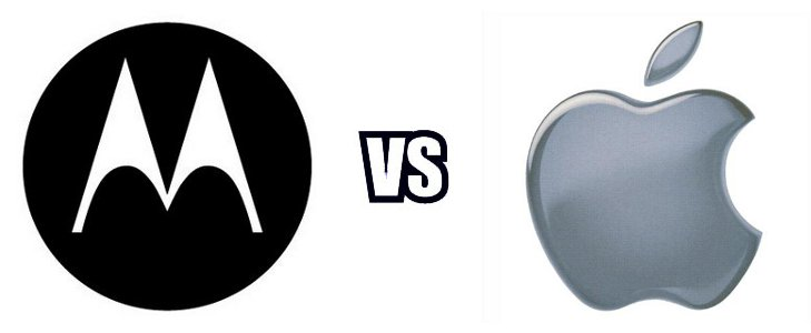 Motorola VS Apple, la guerra de patentes sigue en pie
