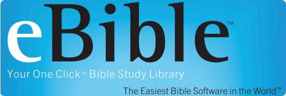 eBible: lleva la biblia a todos lados