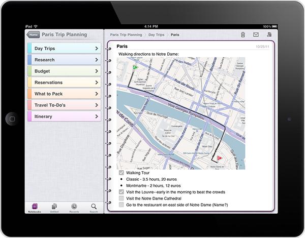 Microsoft OneNote 1.3 (también para iPad)