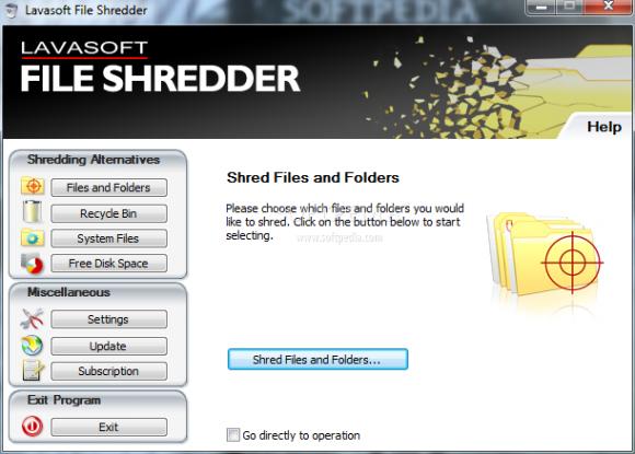 Eliminar archivos de manera segura con File Shredder