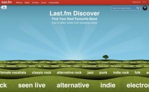 Last.fm Discover: Descubre nueva música de un modo diferente