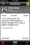 TweetDeck for iPhone en imágenes