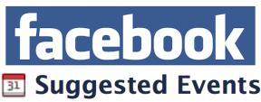"""Facebook """"Eventos sugeridos"""""""