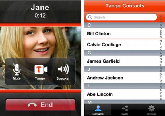 Tango: realiza video llamadas gratuitas en Apple y Android
