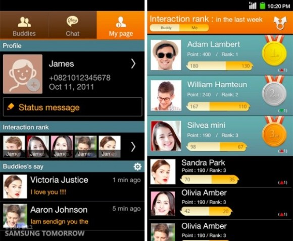 ChatOn, mensajería instantea para iOS