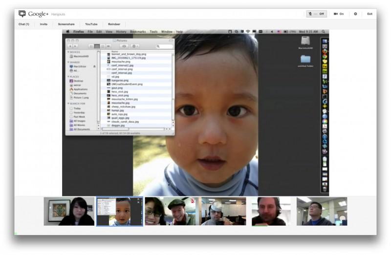 Google+ Hangouts: Comparte tu escritorio