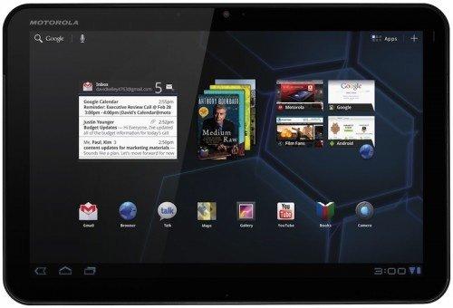 Ice Cream Sandwich disponible para tabletas Motorola Xoom