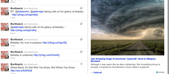 Parrotfish: extensión de Chrome para visualizar Tweets