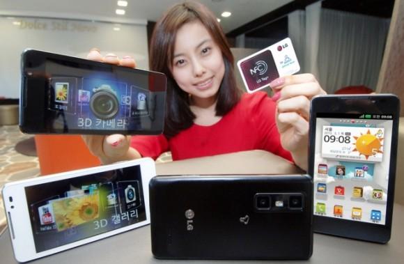 Características del LG Optimus 3D Cube