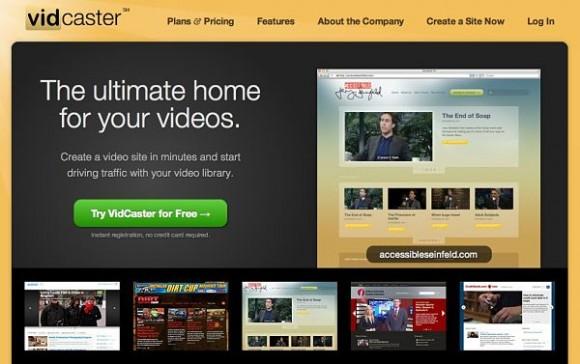 Vidcaster, crea tu propio sitio de videos