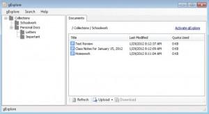 gExplorer: Gestiona Google Docs desde el escritorio de Windows
