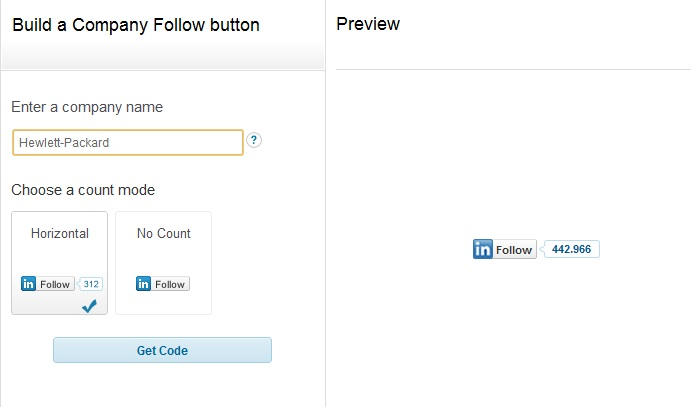 LinkedIn estrena botón para seguir a las empresas