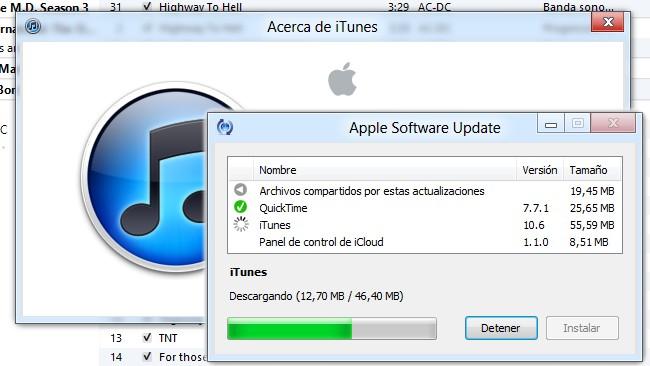 Disponible iTunes 10.6