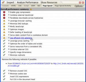 Page Speed: Add-on para Firefox de análisis de rendimiento web
