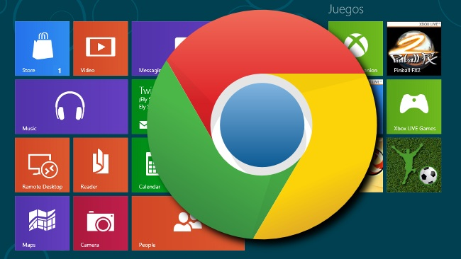 Tendremos Chrome para la interfaz Metro de Windows 8