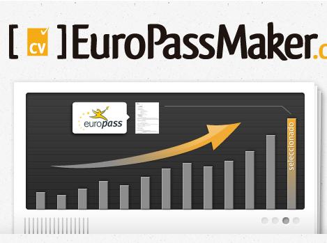 EuroPassMaker: Crea tu currículum según el modelo Europass