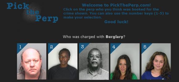 Descubre quien ha cometido el delito en Pick the Perp
